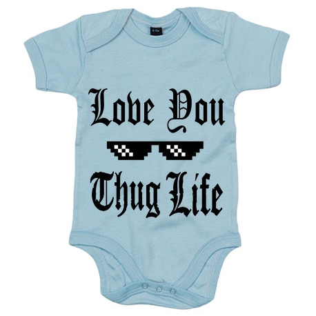 Body bebé I Love You Thug Life