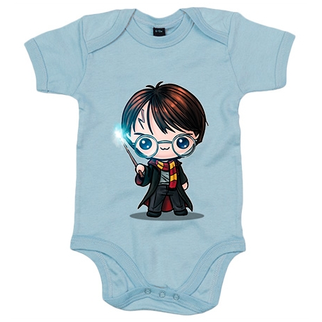 Body bebé Chibi Kawaii Harry Potter primera version parodia