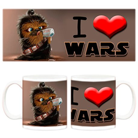 Taza I love Star Wars