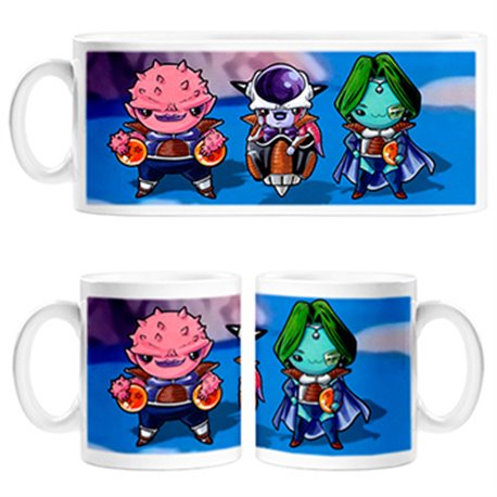 Taza Kawaii Dragon Ball Freezer y compañía