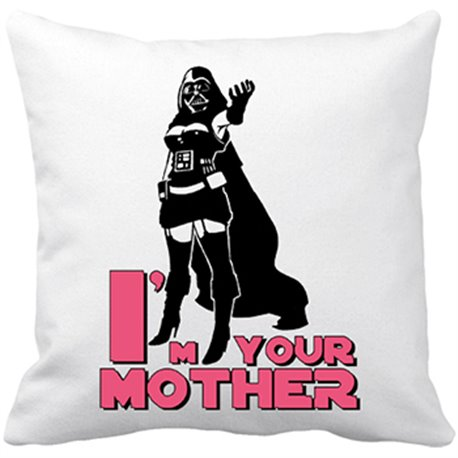 Cojín con relleno I Am Your Mother para madre friki