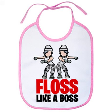 Babero baile Floss Like A Boss