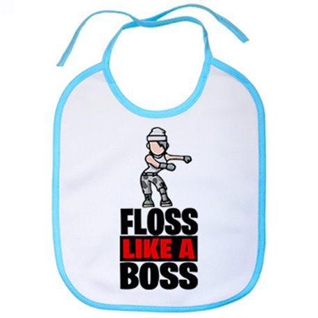 Babero Floss Like A Boss
