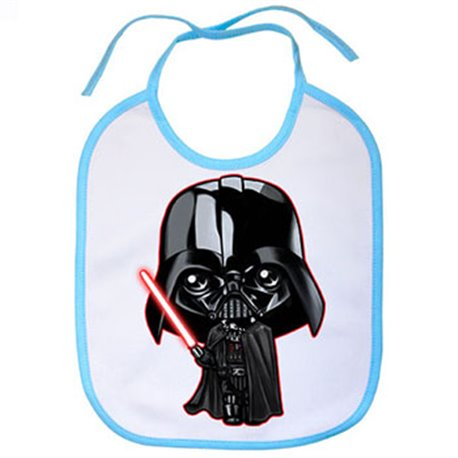 Babero parodia de Star Wars Darth Vader Kawaii