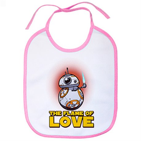 Babero parodia BB8 The Flame Of Love