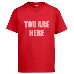 Camiseta You Are Here