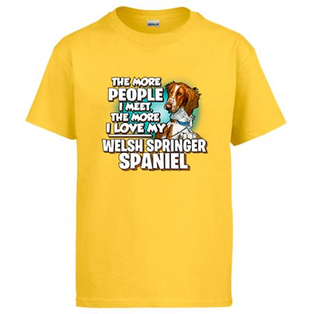 Camiseta I love my Welsh Springer Spaniel raza perro