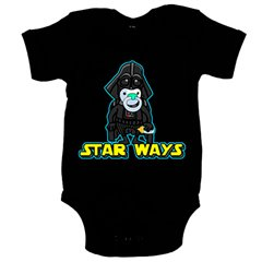 Body bebé Star Wars Darth Vader Star Ways bebé