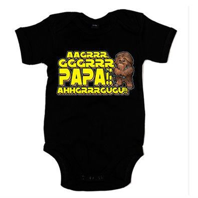 Body bebé Star Wars Chewbacca papá