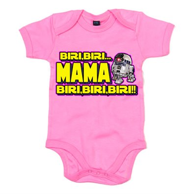 Body bebé Star Wars R2-D2 mama