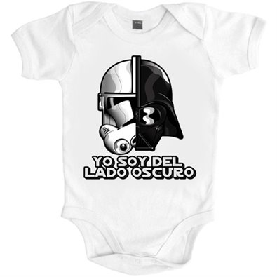 Body bebé Star Wars Darth Vader y Clon