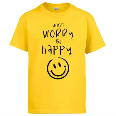 Camiseta Don`t Worry Be Happy