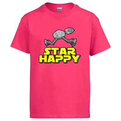 Camiseta Star Wars At-At Star happy