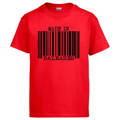 Camiseta Made in Baleares