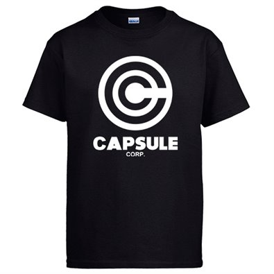 Camiseta Dragon Ball Capsule Corp