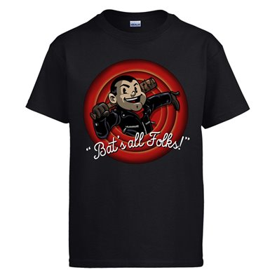 Camiseta The Walking Dead Bat´s all Folks Negan Lucille