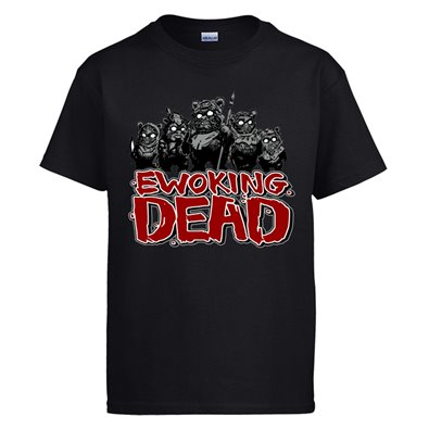 Camiseta Star Wars Ewoking Dead