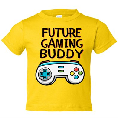 Camiseta niño Future Gaming Buddy