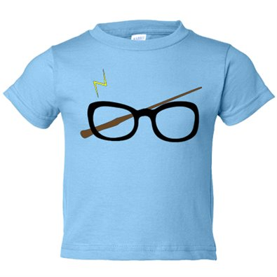 Camiseta niño Harry Potter gafas