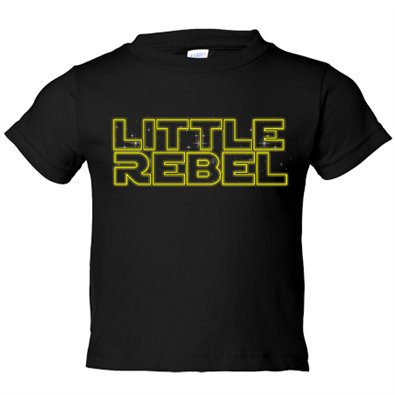 Camiseta niño Star Wars Little Rebel