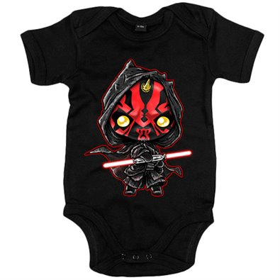Body bebé Star Wars Darth Maul Kawaii