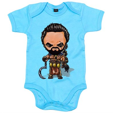 Body bebé Game Of Thrones Juego de tronos Khal Drogo Kawaii