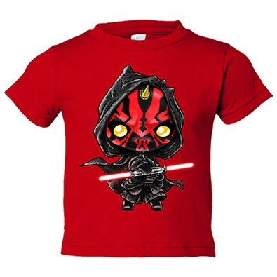 Camiseta niño Star Wars Darth Maul Kawaii