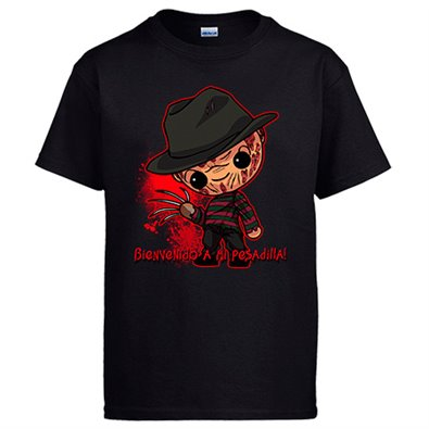 Camiseta Freddy Krueger Kawaii