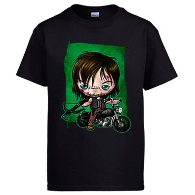 Camiseta The Walking Dead Daryl Dixon Kawaii