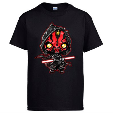 Camiseta Star Wars Darth Maul Kawaii