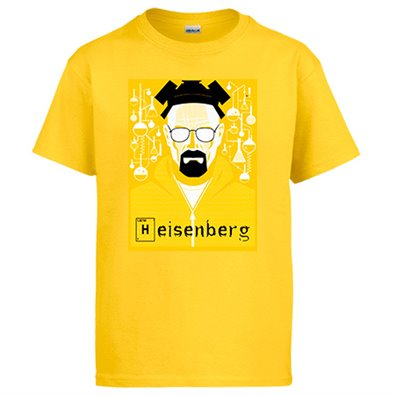 Camiseta Breaking Bad Heisenberg Científico