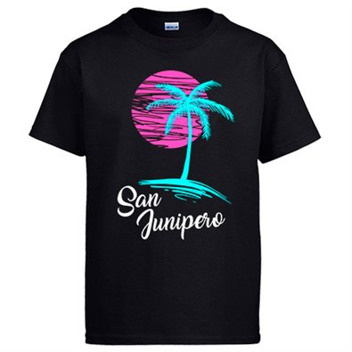 Camiseta Black Mirror San Junipero