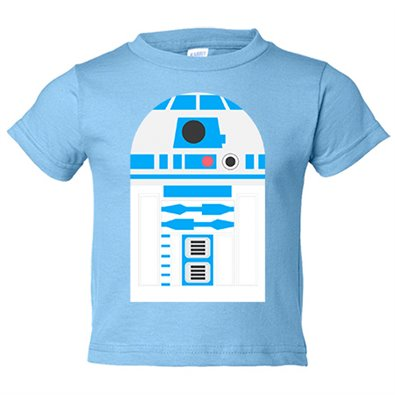 Camiseta niño Star Wars R2D2 androide