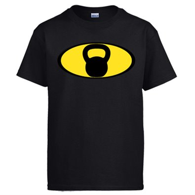 Camiseta Crossfit kettlebell Batman