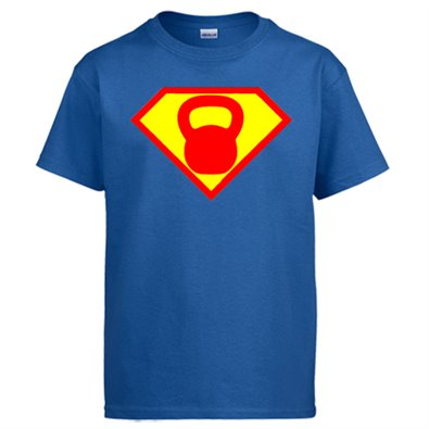 Camiseta Crossfit kettlebell Superman