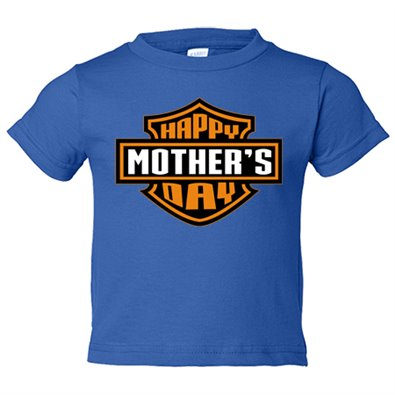 Camiseta niño Happy Mother s Day Harley Davidson
