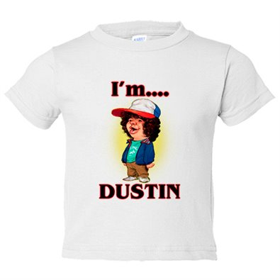 Camiseta niño Stranger Things I Am Dustin