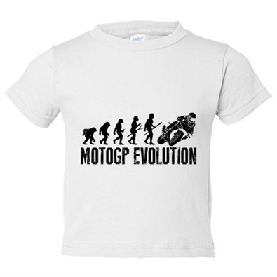 Camiseta niño Moto GP Evolution