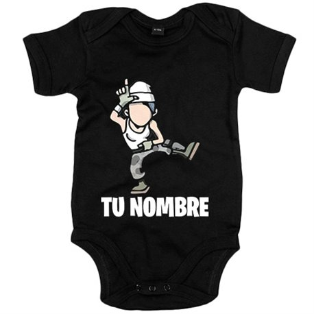 Body bebé Fortnite pose Take The L baile Loser personalizable con nombre