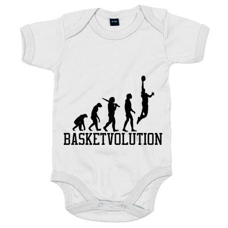 Body bebé Basketvolution Basket Evolution