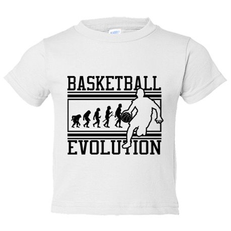 Camiseta niño Basketball Evolution