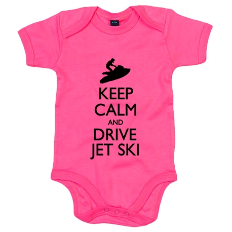 Body bebé Keep Calm And Drive Jet Ski