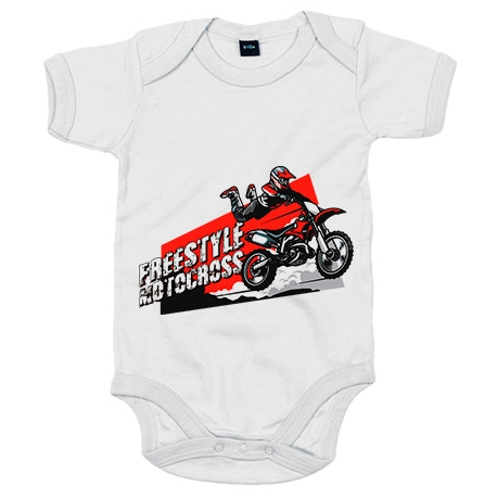Body bebé Motocross Freestyle Superman Jump