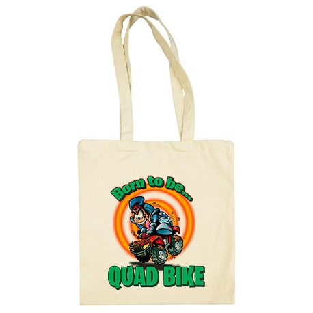 Bolsa de tela Born To Be Quad Bike