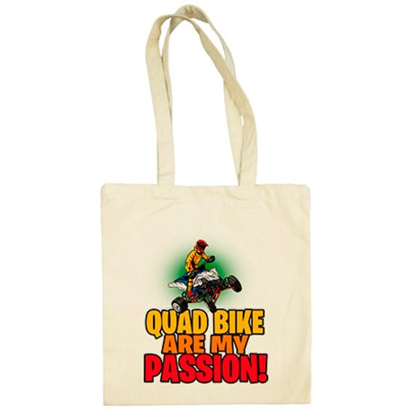 Bolsa de tela Quad Bike Are My Passion