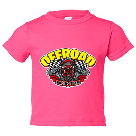 Camiseta niño Motocross Off Road Racing Team