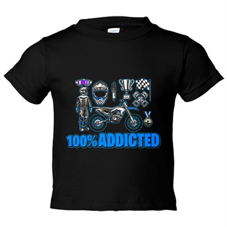 Camiseta niño Motocross Addicted